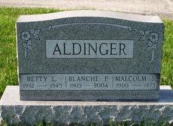 Blanche P <i>Gettys</i> Aldinger
