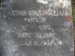 Martha Mae <i>Williams</i> Abel
