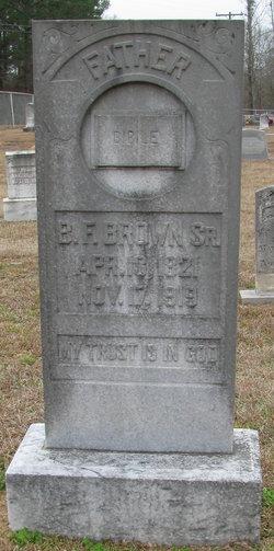 B. F. Brown, Sr