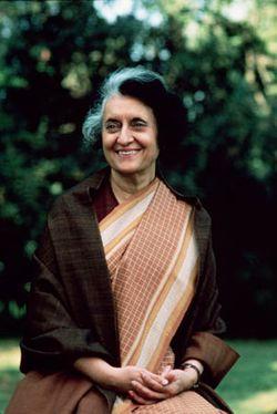 Indira Priyadarshini Gandhi