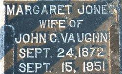 MARGARET ANN Maggie <i>JONES</i> VAUGHN