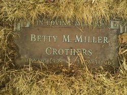 Betty Maxine <i>Crothers</i> Miller