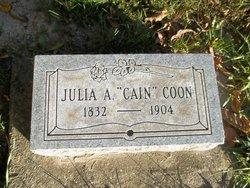 Julia Ann <i>Cain</i> Coon