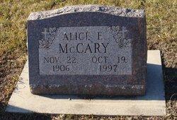 Alice E <i>Schultz</i> McCary