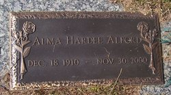 Alma <i>Hardee</i> Alford