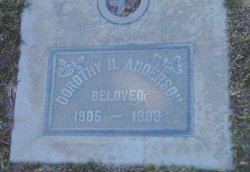 Dorothy Aileen <i>Hickok</i> Anderson