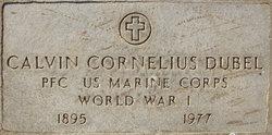 Calvin Cornelius Dubel