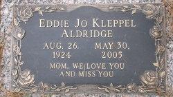Eddie Jo <i>Kleppel</i> Aldridge