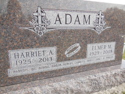 Harriet A <i>Greiner</i> Adam
