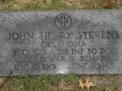 John Henry Stevens