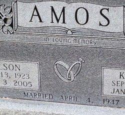 Kathryn Kate <i>Sanders</i> Amos