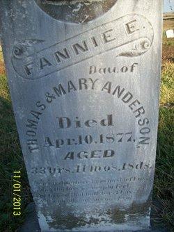 Frances A. Fannie Anderson