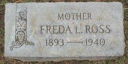 Freda L. <i>Ledyard</i> Ross