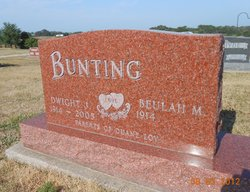 Beulah M <i>Gatton</i> Bunting