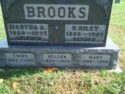 Martha A <i>Carroll</i> Brooks