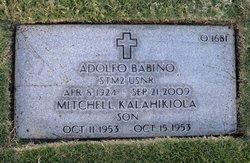 Mitchell Kalahikiola Babino
