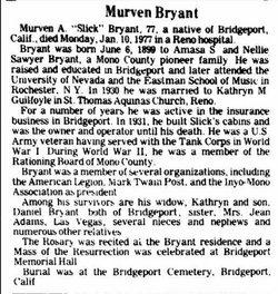 Murven Amasa Bryant