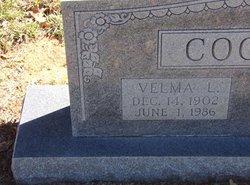 Velma Lillie <i>Kelly</i> Cooper