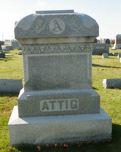 Anna E. Annie <i>Ellinger</i> Attig