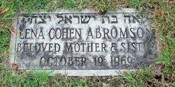 Lena <i>Cohen</i> Abromson