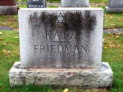 Sylvia <i>Katz</i> Friedman