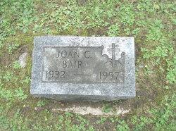Joan C <i>Popendick</i> Bair