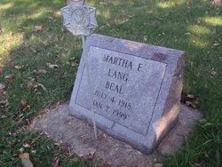 Martha Florence <i>Lang</i> Beal