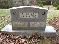 Evelyn <i>Rashida</i> Adams