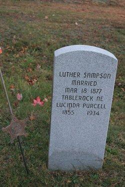 Lucinda Rebecca <i>Purcell</i> Sampson
