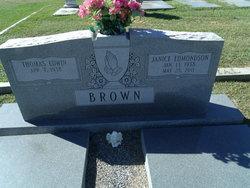 Janice <i>Edmondson</i> Brown