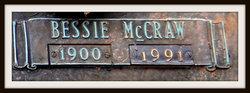 Bessie <i>McCraw</i> Burgess