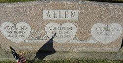 Arvie A. BID Allen