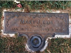 Mary Jacquelyn Jackie <i>Erickson</i> Cox