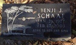 Benjamin John Benji Schaaf