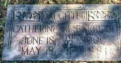 Catherine M Katie Barrett