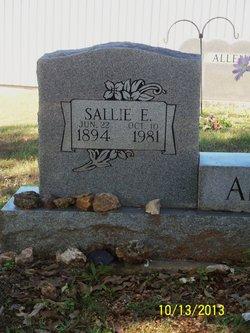 Sallie Emily <i>Yancey Allen</i> Smallie