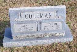 Sarah Azalee Addie <i>Vick</i> Coleman