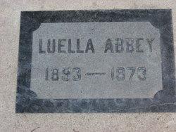 Luella Frances <i>Hornsby</i> Abbey
