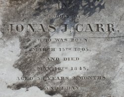 Jonas Johnston Carr