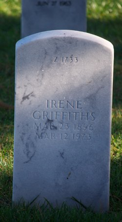 Irene <i>Scott</i> Griffiths