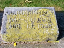 Alvin D. Bartholomew