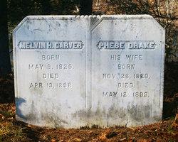 Phebe <i>Drake</i> Carver