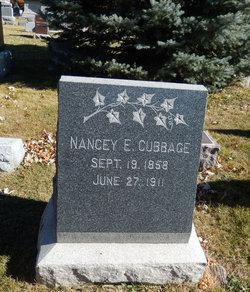 Nancey Ellen Nan/Nannie <i>Patterson</i> Cubbage