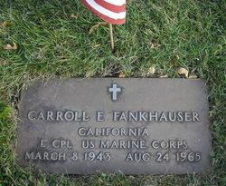 LCpl Carroll Eugene Fankhauser