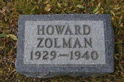 Howard Ervin Zolman