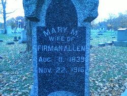 Mary Maria Allen