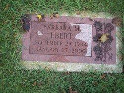 Barbara Anne <i>Melzer</i> Ebert