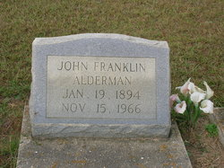 John Franklin Alderman
