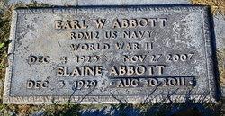 Earl W Abbott