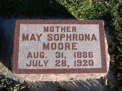 Sophrona May <i>Clapp</i> Moore